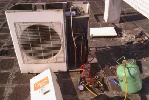 南昌奥克斯售后电话-中央空调维修保养中热交换器的作用